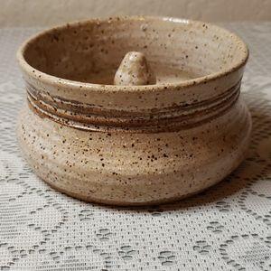 Pottery apple baker